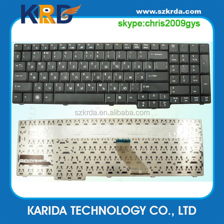 New laptop keyboard for Acer 5235 5335 5355 6530 6930 7230 7530 7730 8920 8930 notebook keyboard US/RU/GR layout