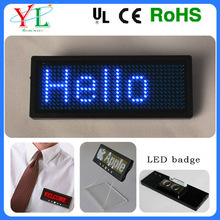 Various colors The portable intelligent Mini mini led screen badge