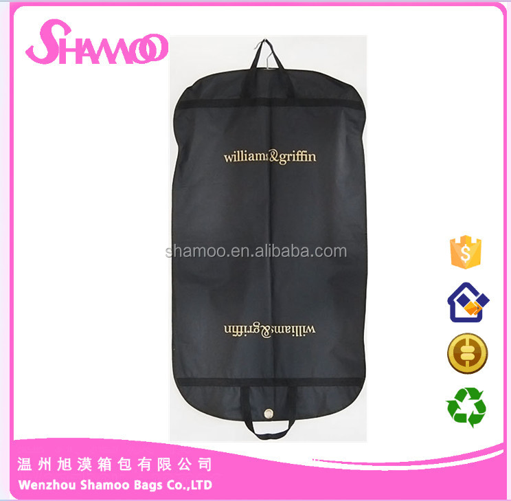 Travel Suit Cover Wholesale Price Garment Bag for packing clothing