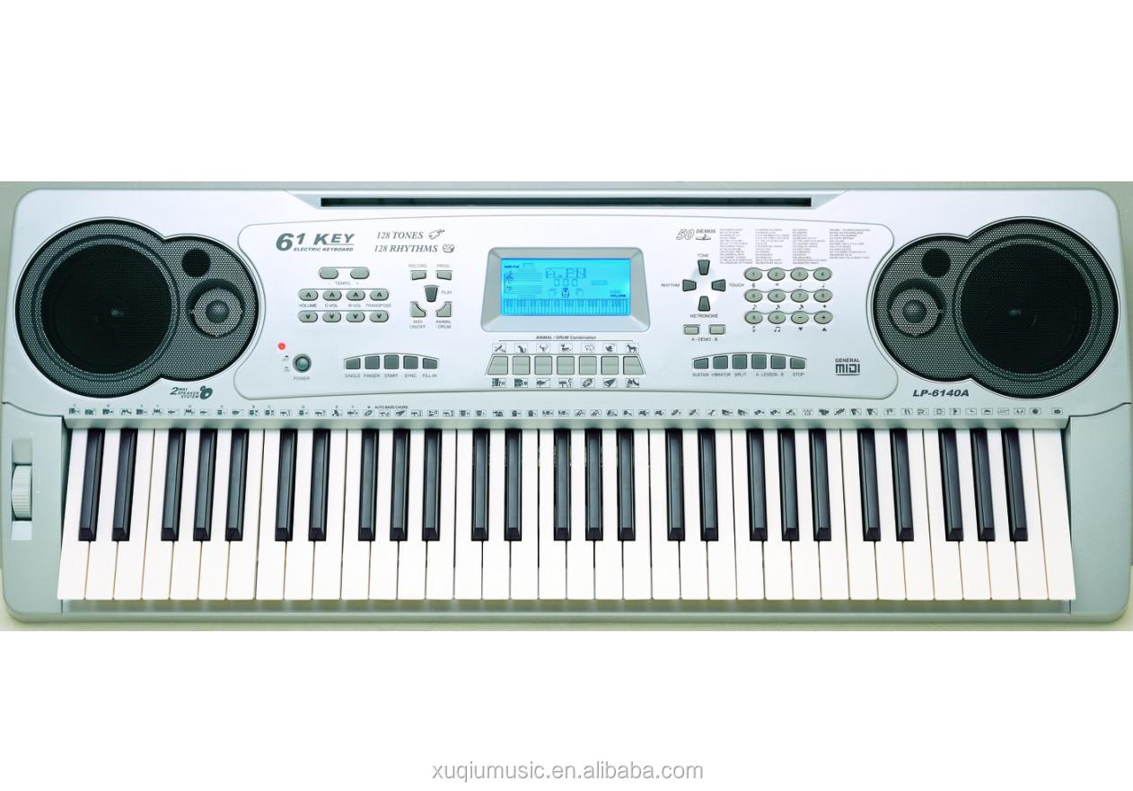 MIDI OUT Capability Musical Electric Keyboard