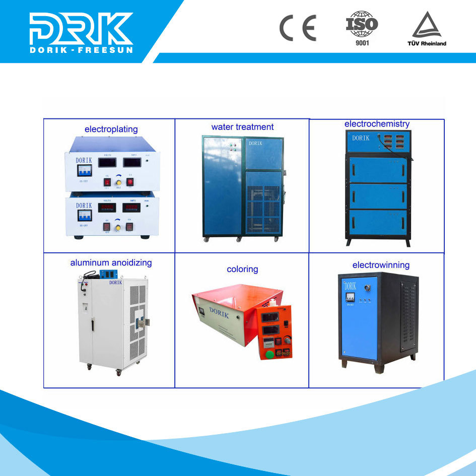 Security reliable operation 400a dc power supply