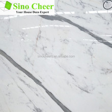 natural stone polished white marble tile,factory produced white marble floor