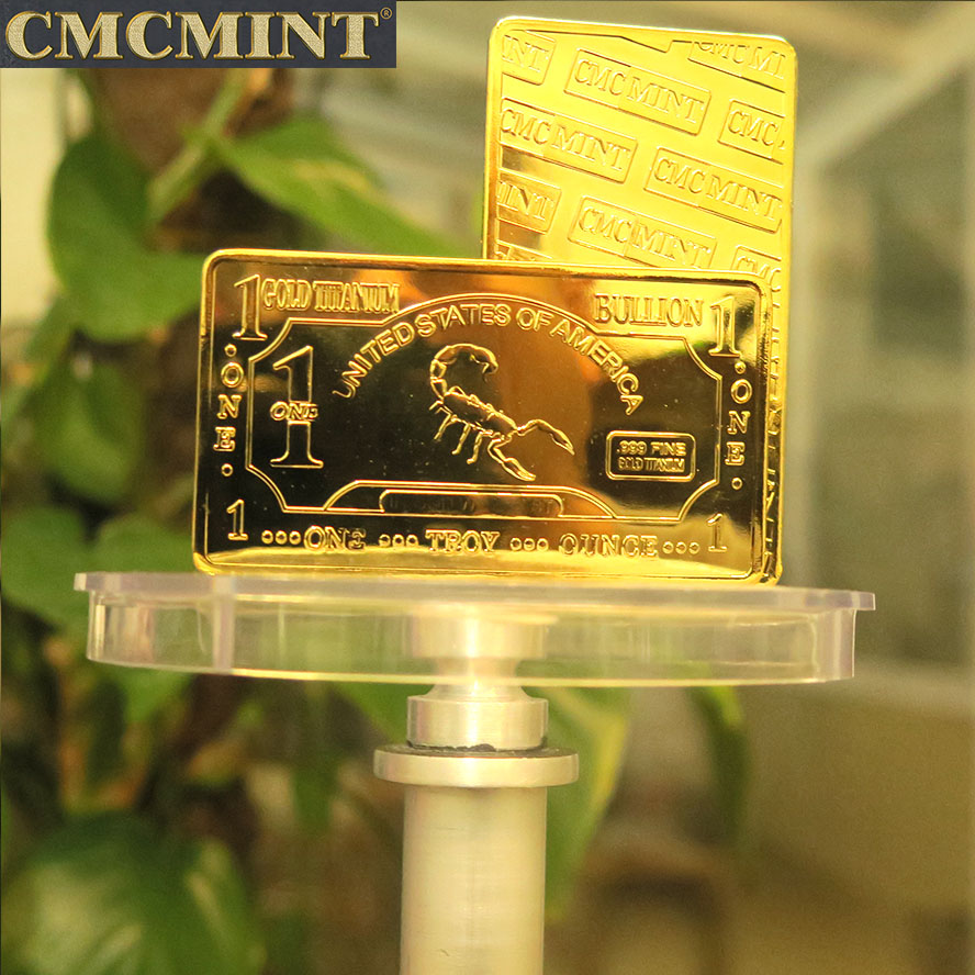 Free sample gold bars bullion 24k pure plated <strong>metal</strong>