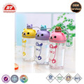 high quality baby clear lovely drinking bottle