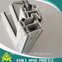 80 white PVC profile for plastic window and door