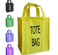 Eco Friendly Resuable Custom Logo Printed Folding Grocery Tote Bag