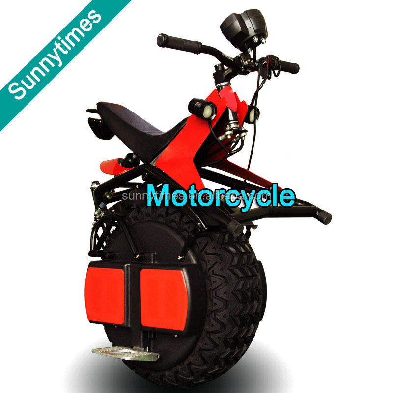 Sunnytimes 26inch Brushless Motor One Wheel China Sport Motorcycle 4000W