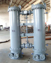 air water shell and tube heat exchanger material