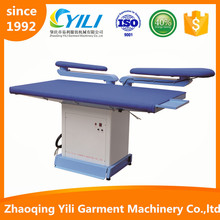 vacuum ironing table for garment factory hotels