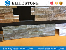 Manufacturer Competitive Price Natural Black Culture Stone Wall Rough Edged Slate Tile