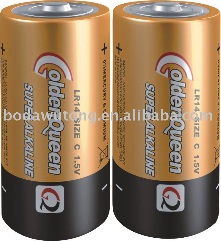 LR14 alkaline battery