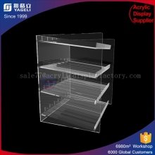 simple design Acrylic Display Case / Cabinet Cakes Cupcakes holder /high quality hot sale bakery display made in China