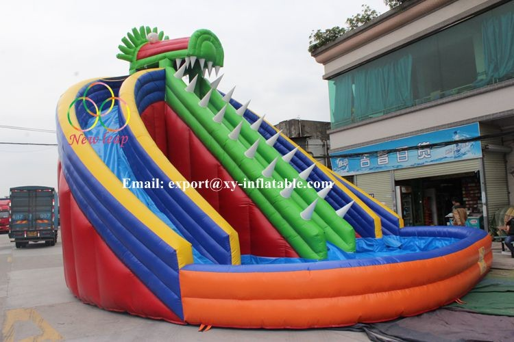 Adults inflatable water slide, cheap inflatable water slides for sale