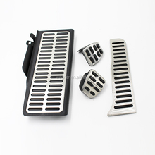 wholesale Gas brake pedal pad anti-skidding accelerator pedal for VW passat MT rubber foot pedal pad cover