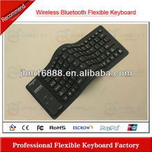 flexible silicon bluetooth keyboard case for iphone 5