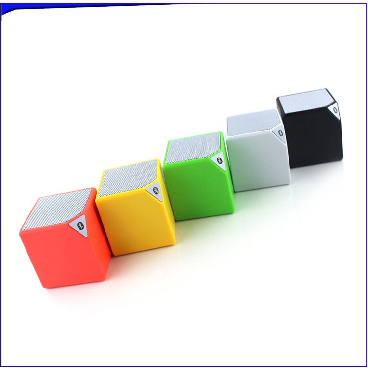 wholesale block shape wareless mini blooth speaker mobile wareless speaker