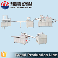 automatic burger bread forming machine in bread making production line