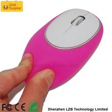 Magic 2.4G Wireless silicon mouse with soft gel