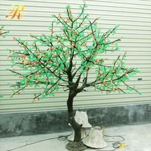 Classic style led lights tree outdoor christmas train decoration