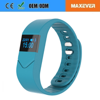 Real-Time Monitoring Blood Oxygen Blood Pressure Heart Rate Health Wristband Anti Lost Alarm M5