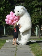 inflatable walking bear cartoon