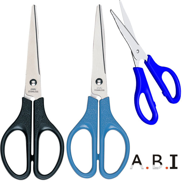 "hot sales 5"" Soft Grip plastic student office scissors"