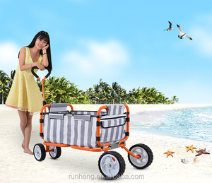 2014 new hot selling folding beach wagon childrens tool cart