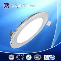Round shaped surface mounted slim 6W led panel light
