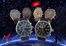 Japanese Movement Chronograph Watch with interchangeable Bands Stainless Steel Case Backing Watches Men Quartz