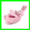 Simply Adorable Playfully Elegant Plush Pink Bunny Easter Basket