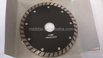 MIDSTAR circular saw blades for dry cutting stone
