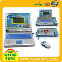 High Quality Russian learning machine educational toys laptop computer