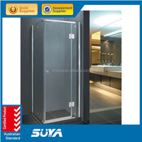 Hot popular copper frameless shower screen with CE/AS2208/SGCC certificate