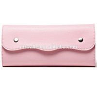 Faux Leather Envelop Clutch Wallet Purse for Lady Leather Wallet Producer