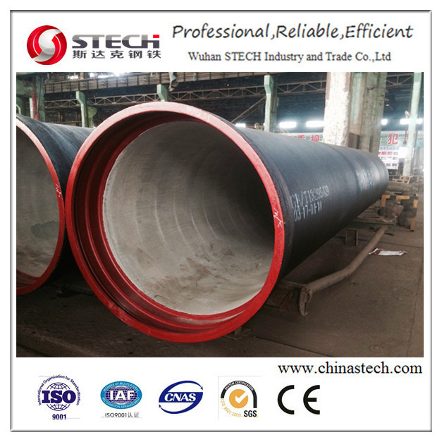 The internal coating of sulfate cement mortar Ductile Casting Iron Pipes