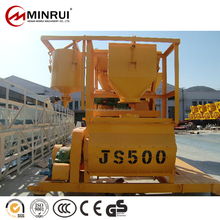 Good price of hot sale js500 tractor mounted cement mixers with good