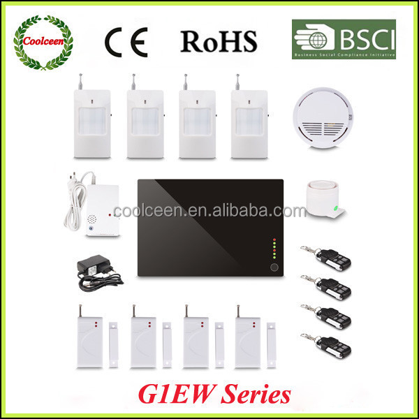 G1EW Wireless smart home automation gsm security alarm system