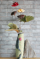 Dry natural lotus seed and leaf excellent new house hotel decorative arts and crafts