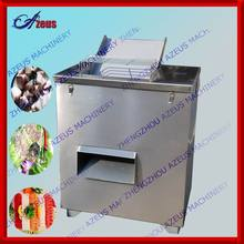 automatic stainless steel fish meat cutter