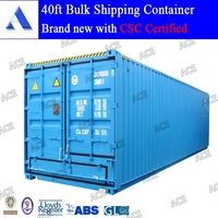 40 bulk container used for bulk goods transport