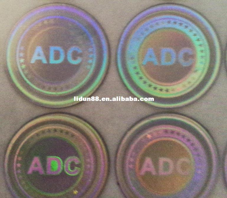security holograms labels & stickers