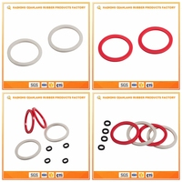 Superior Stable Round Gasket Soft Silicone Rubber Ring