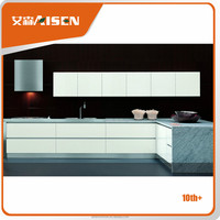 Great durability modular lacquer finish wooden kitchen cabinet
