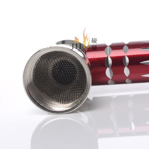 Yiwu jiju JL-200 fashion style smoking metal product tobacco pipes
