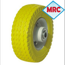 high performance 250-4 Pu wheel/rubber foam filled tyres for wheel barrow