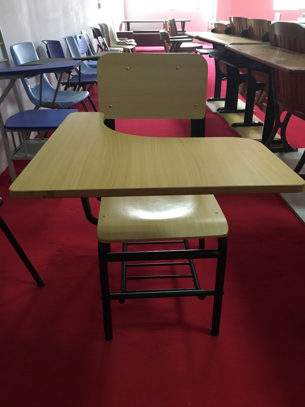 For sale!!School classroom folding tablet chair school chair with writing pad and writing board