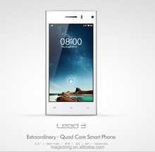 "New arrival leagoo lead 3 mobile phone 4.5"" QHD IPS LCD 960*540 handset with factory price"
