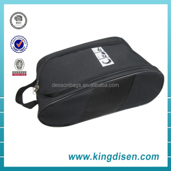 Custom Logo Printed Zipper Shoe Bag for Travel