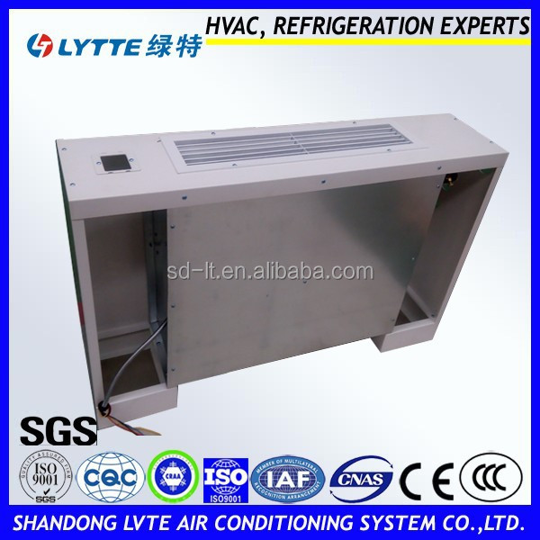 Vertical Type Air Conditioner Fan Coil, Vertical Exposed Fan Coil for Central Air Conditioning Terminal Equipment