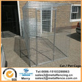 2.4Deep x 1.2W x 1.8H Budget type galvanized Cat/ Pet Cage.